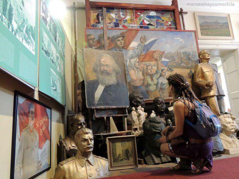 Museo Comunista en Praga Maruxaina
